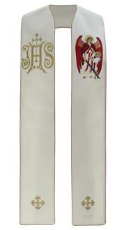 "Gothic stole ""Archangel Raphael"" SH474-K"