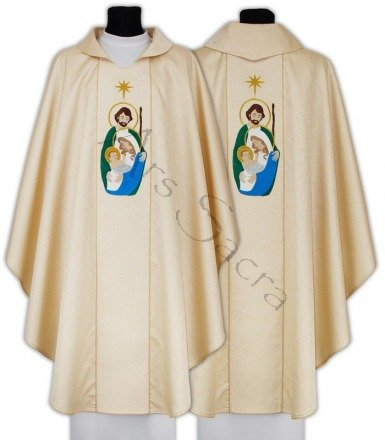 "Gothic Chasuble ""Christmas"" 612-G54"