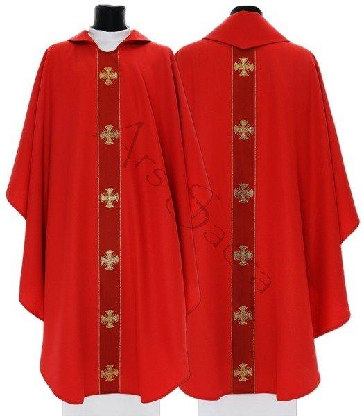 """Gothic Chasuble """"Maltese Crosses"""" 104-C"""