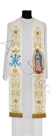 """Gothic stole """"Guadalupe"""" SH25-K"""