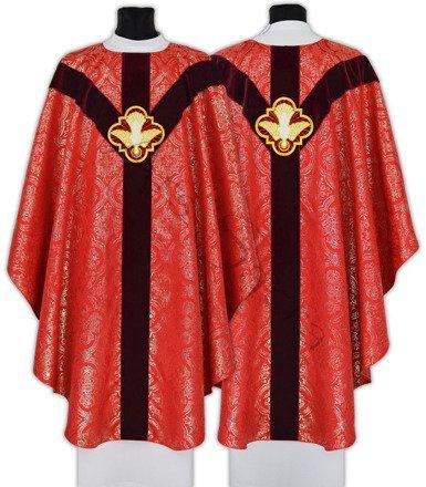 """Semi Gothic Chasuble """"Holy Spirit"""" GY207-AC14"""