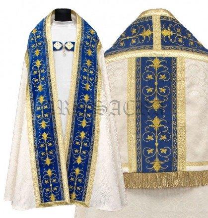Chape romaine mariale KT561-AKN25