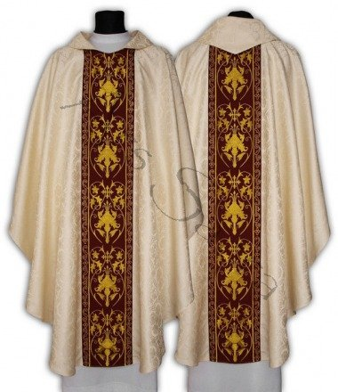 Chasuble gothique 557-KC25