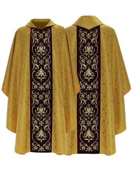 Chasuble gothique 674-AZ25