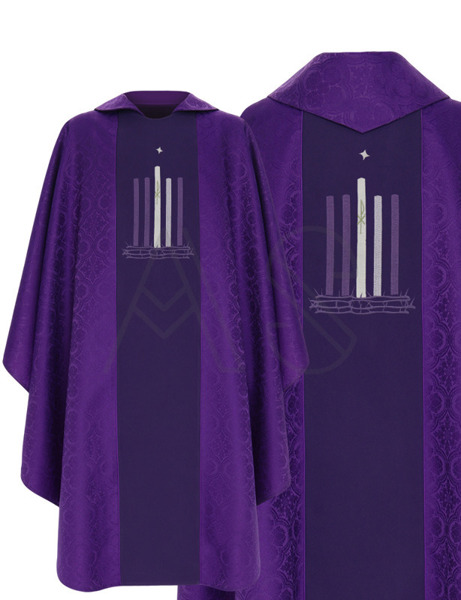 Chasuble gothique 783-F25