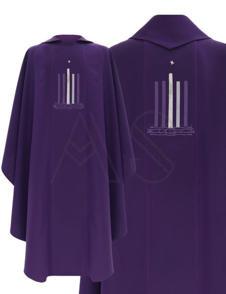 "Chasuble gothique ""Avent"" 783-R"