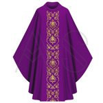 Chasuble gothique 674-F27g