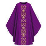 Chasuble gothique G674-F