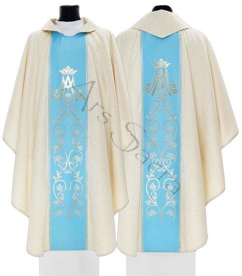 Marianische gotische Kasel 085-GN54