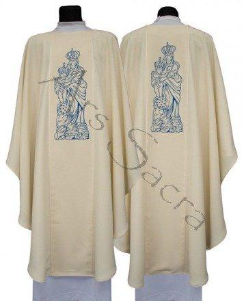 Marianische gotische Kasel G608-K27