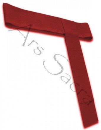 Rotes Zingulum für Soutane CIN-C