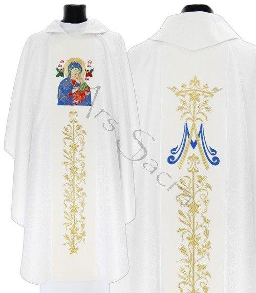 """Maryjny ornat  """"Matka Boża Nieustającej Pomocy"""" 628-AB25"""