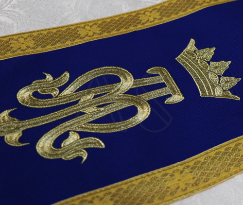Maryjny ornat rzymski R772-KN25