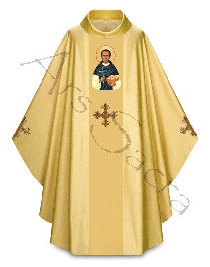 "Ornat gotycki ""św. Martin de Porres"" 431-G63g"