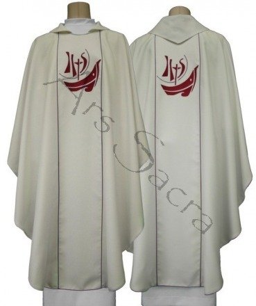 """Casulla gótica """"Año de la Fe"""" 619-R"""