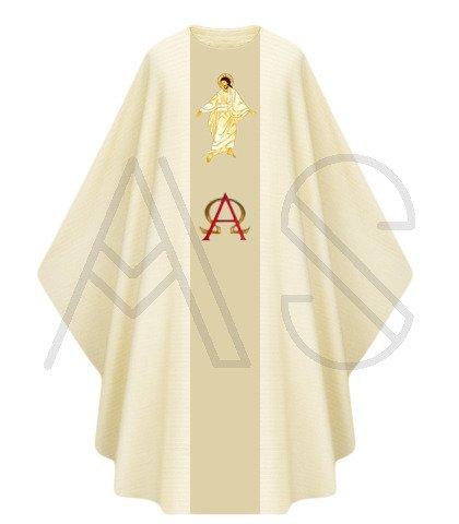 """Casulla gótica """"Jesús Resucita"""" G444-AK"""