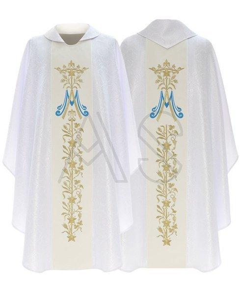 Casulla gótica mariana 581-AB25