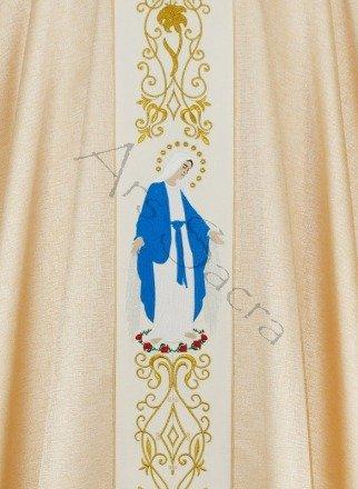 """Casulla mariana """"Nuestra Señora de las Gracias"""" 668-GK54"""